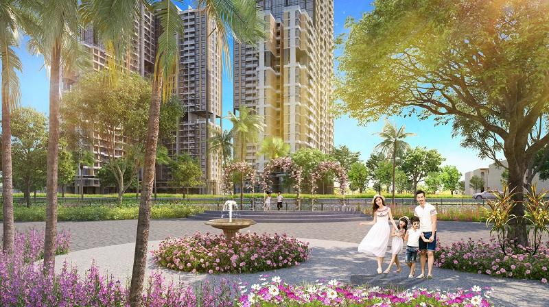 Tiện ích Sennam Lake tại dự án Senturia Nam Sài Gòn
